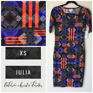 NWT Lularoe Julia Dress